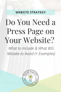 Do You Need a Press Page on Your Website?