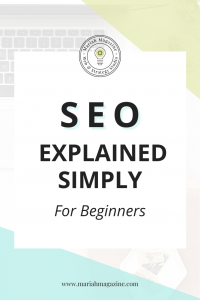 What is SEO? SEO explained simply for beginners - Mariah Magazine - Buffalo NY