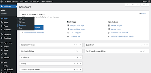 What is WordPress? WordPress for Beginners - CategoriesInWordPress