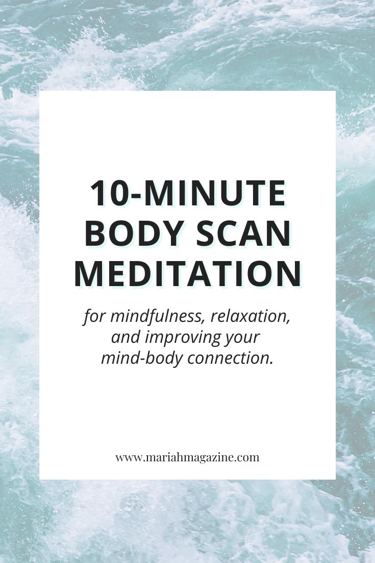 10-Minute Body Scan Meditation   Guided Mindfulness Meditation